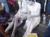 Estatuas vivientes de las hermanas mirabal