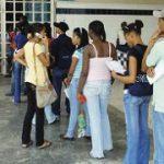Estudiantes nuevos deficientes en Universidades