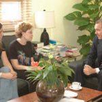 Delegación Universidad de Menphis visita la UASD