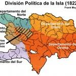 División política de la isla 1822 a 1844