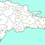 Mapa de las provincias de República Dominicana