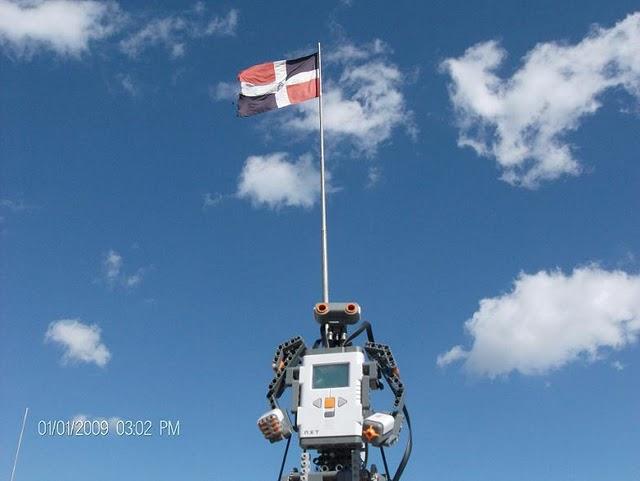 Un robot anda suelto en Santo Domingo