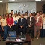 Presidente Indotel celebra encuentro con estudiantes del Loyola