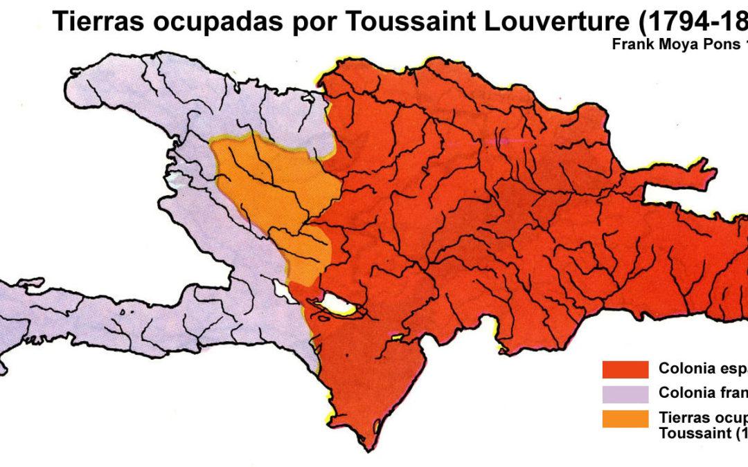 Ocupacion de Toussaint Loverture entre 1794 y 1801