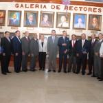 UASD inaugura galería de pasados rectores