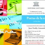 III Encuentro Poetas de la era