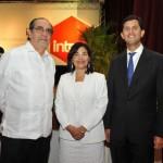 Miguel J. Escala, Leandra Tapia y Roberto Herrera