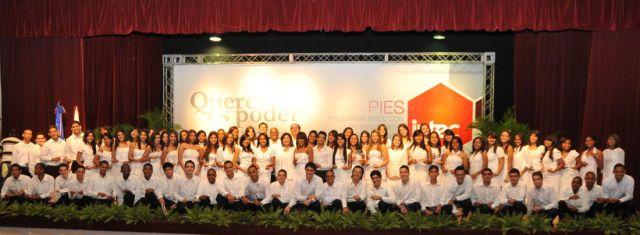 PIES reconoce a 79 jóvenes talentos nacionales en su XXIV Ronda