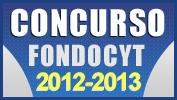 CONVOCATORIA 2012-2013 FONDOCYT
