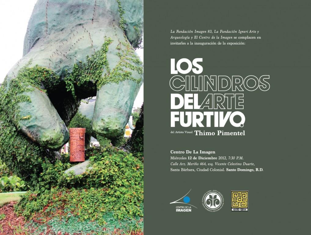 Exposicion Cilindros del arte furtivo