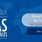 CONVOCATORIA: Becas Internacionales 2018-2019