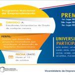 CONVOCATORIA: X Competencia Universitaria de Modelos Negocios 2018