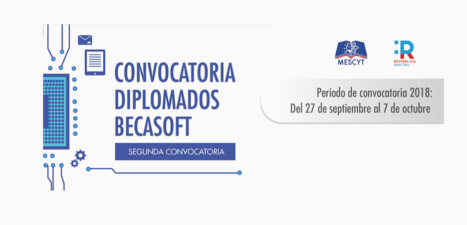 BECASOFT, becas, Mescyt, becas software