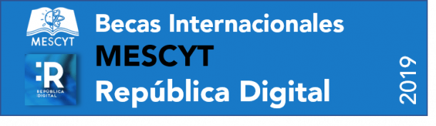 Becas MESCYT Republica Digital 2019-2020