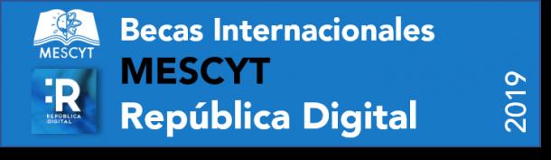 Becas MESCYT Republica Digital 2019-2020