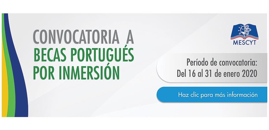 becas portugues