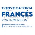 Becas Frances por Inmersion 2021
